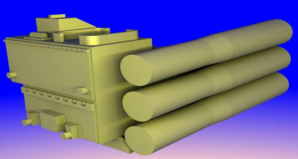 1:35 M60A1 storage box & ammo tubes by Pawel
