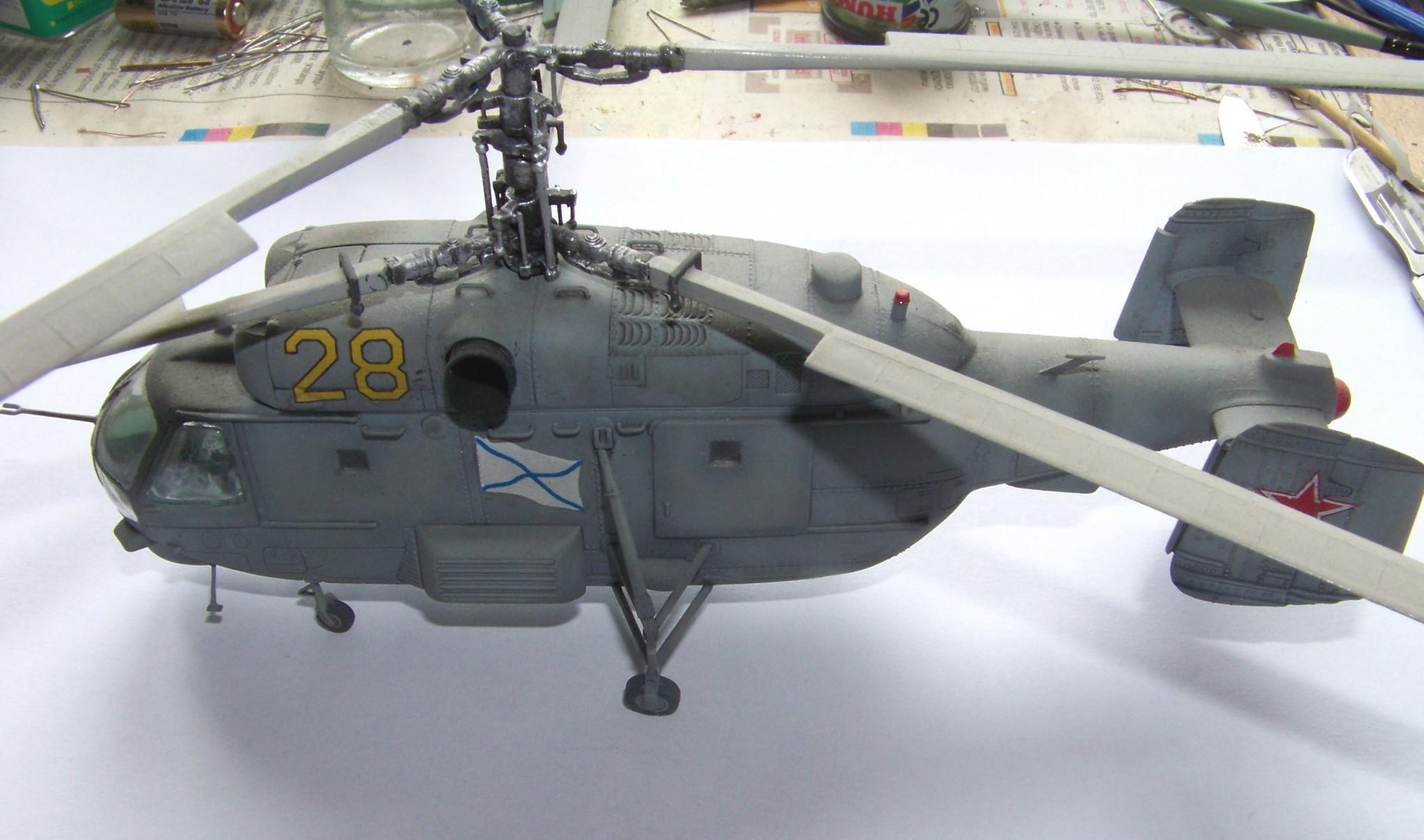 1:72 Ka-27 by Paweł Mroczkowski