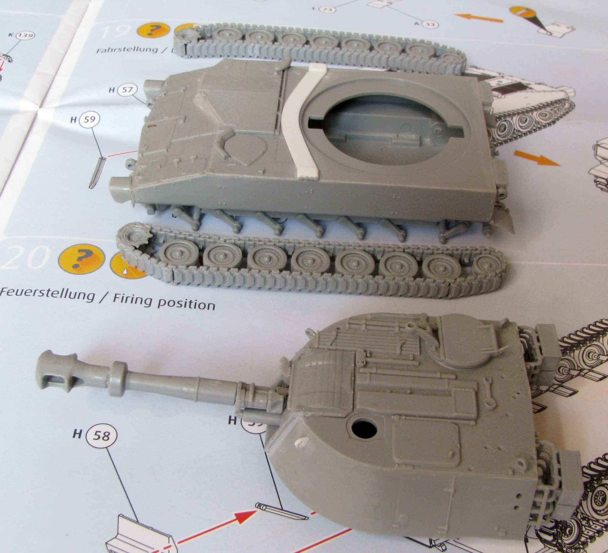 M109 US Army 1:72 Revell Model Kit