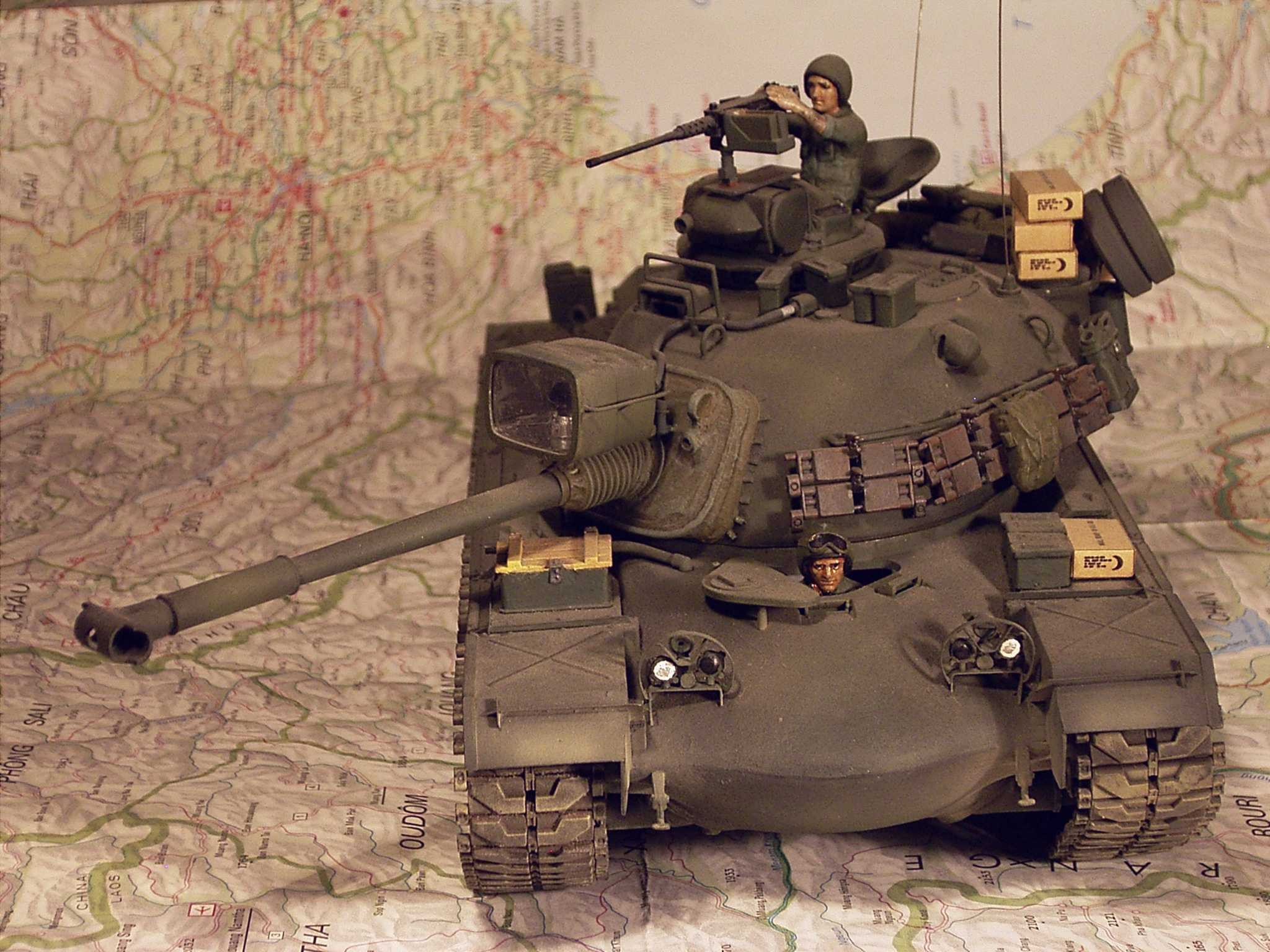 1:35 Seminar (Tamiya) M48A3 Patton by Pawel