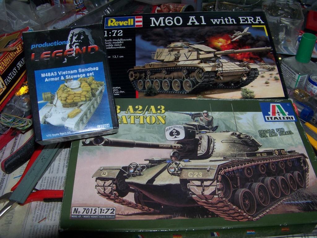 1:72 M48A3 Vietnam by Pawel Mroczkowski