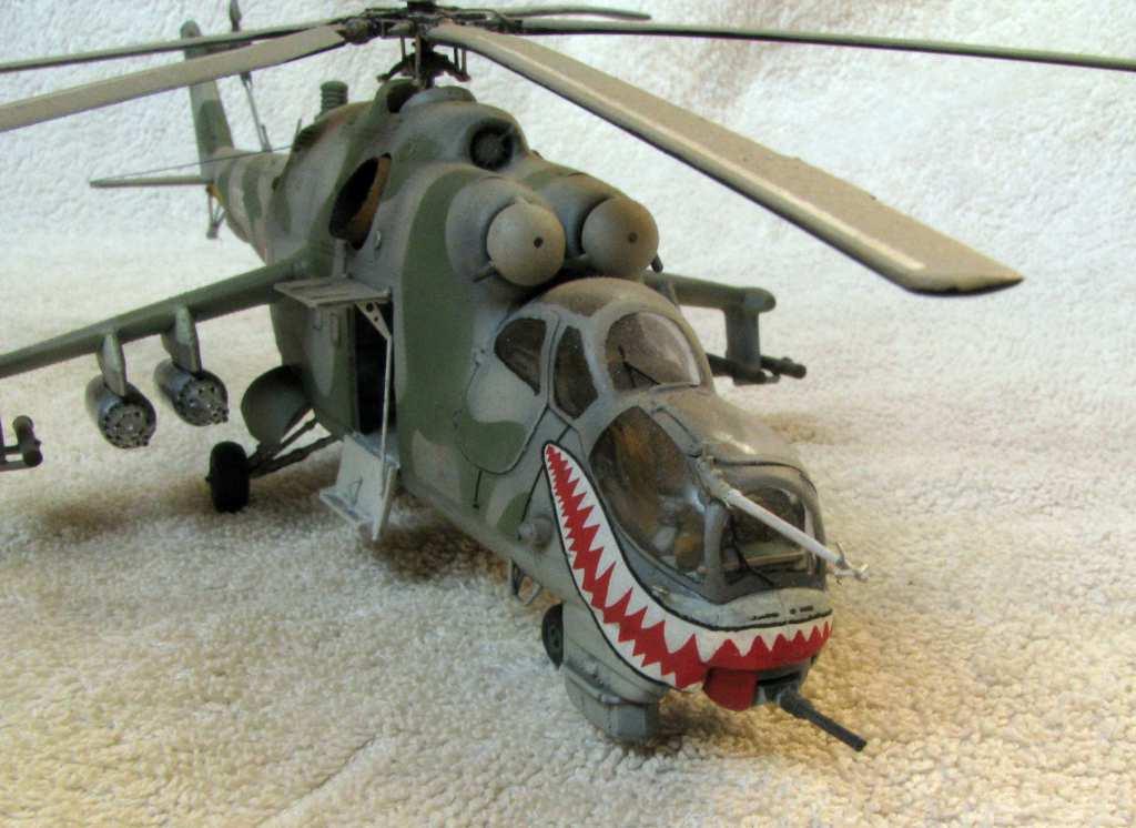 1:72 Italeri Mi-24D Hind by Pawel