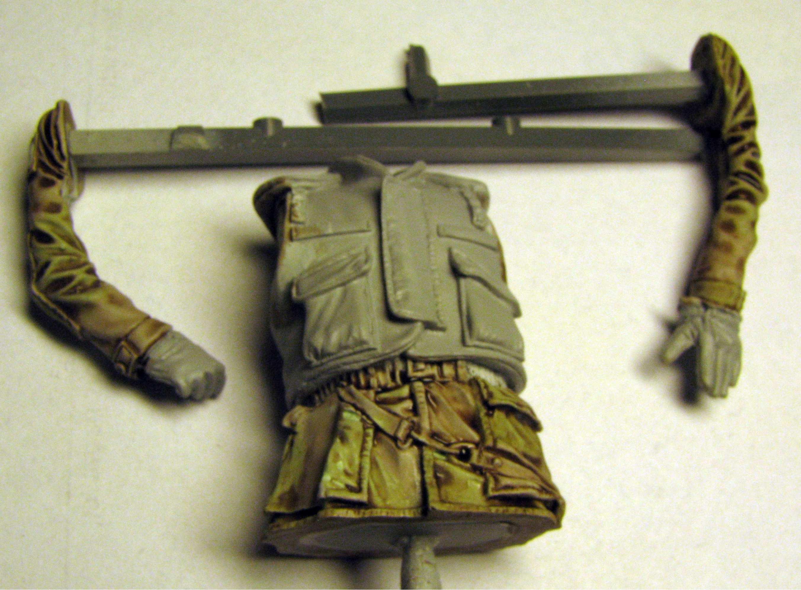 Verlinden 120mm (1/16) USMC Marine during Operation Desert Storm in Kuwait 631