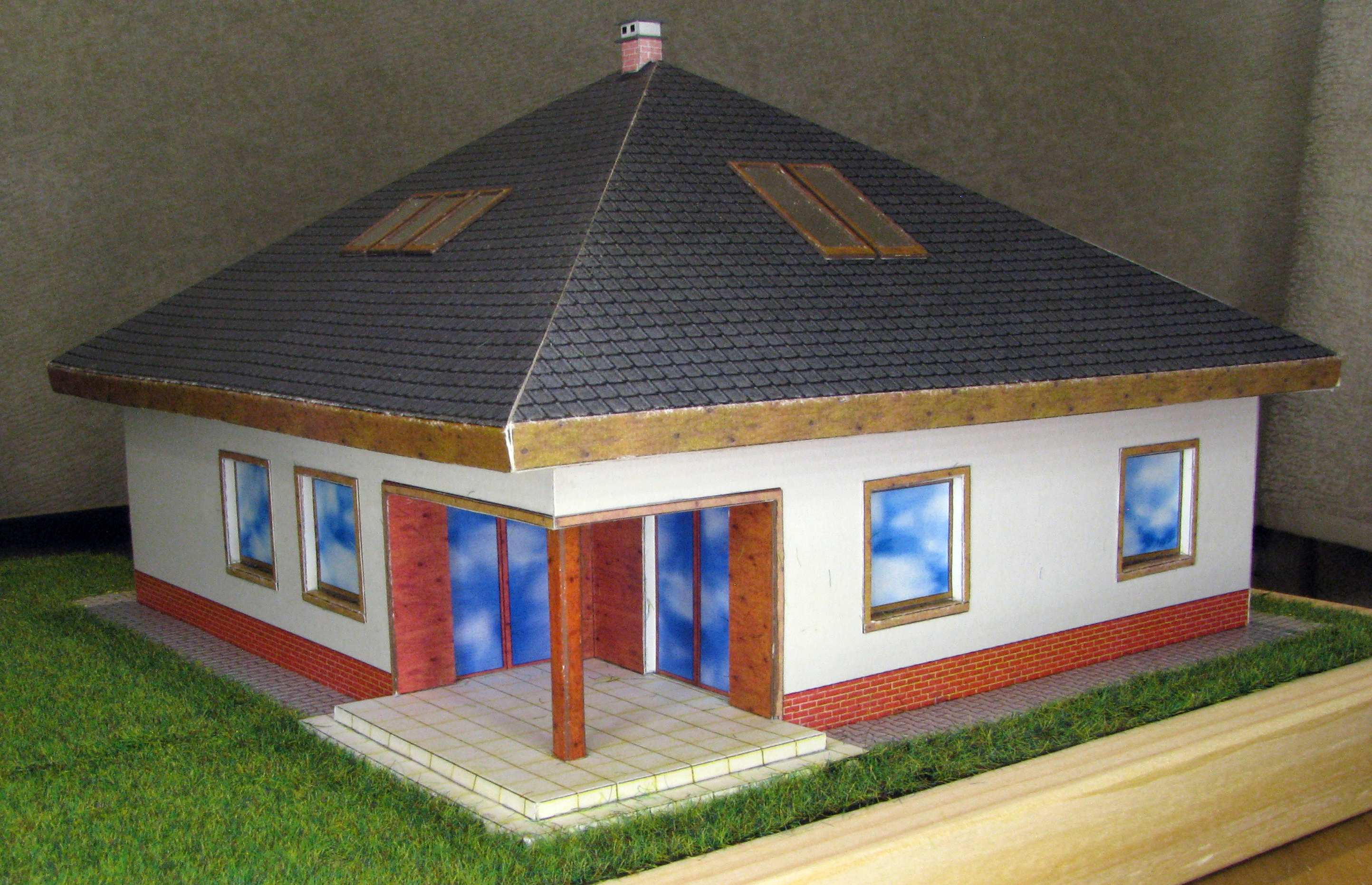 1:87 House by Pawel (Paper model)