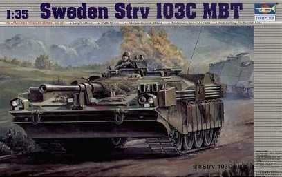 1:35 Trumpeter Strv 103C